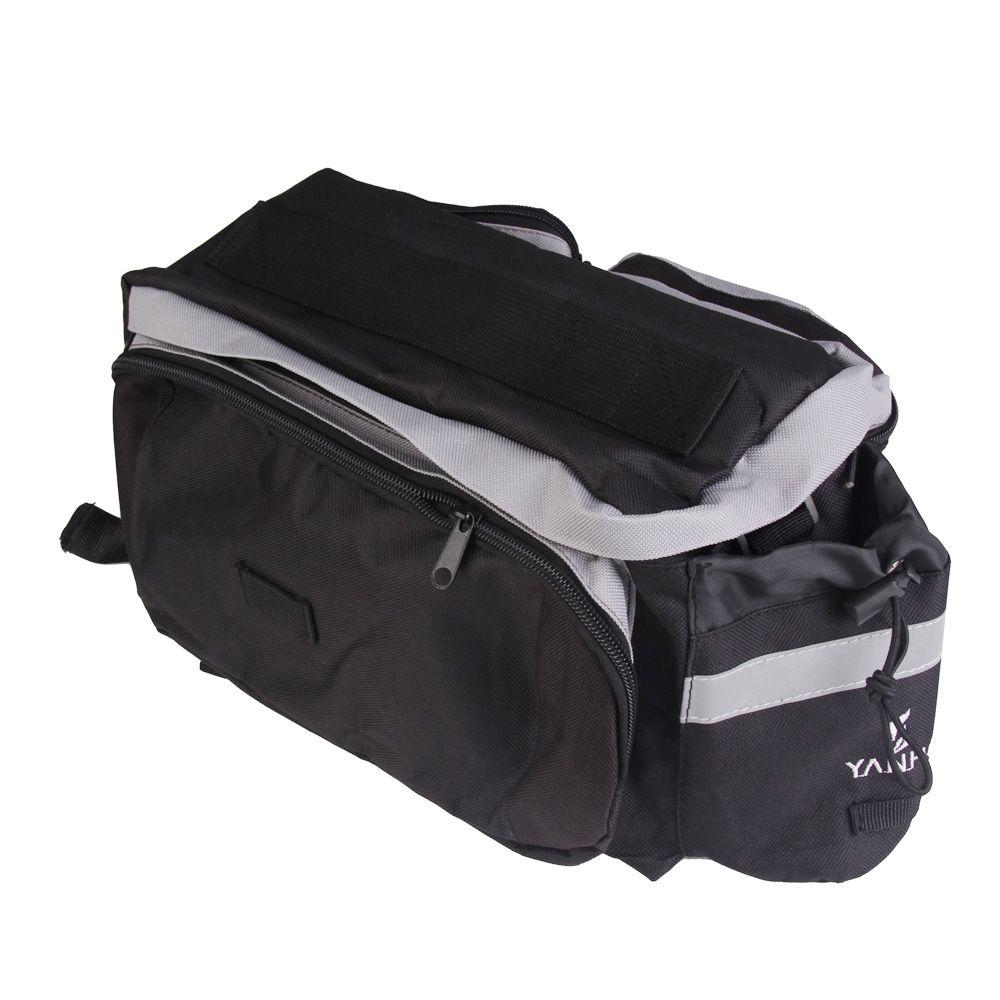 Sac de vélo de cyclisme étanche pratique sac de coffre de siège arrière de vélo sac à main sacoches de vélo arrière VTT accessoires de plein air