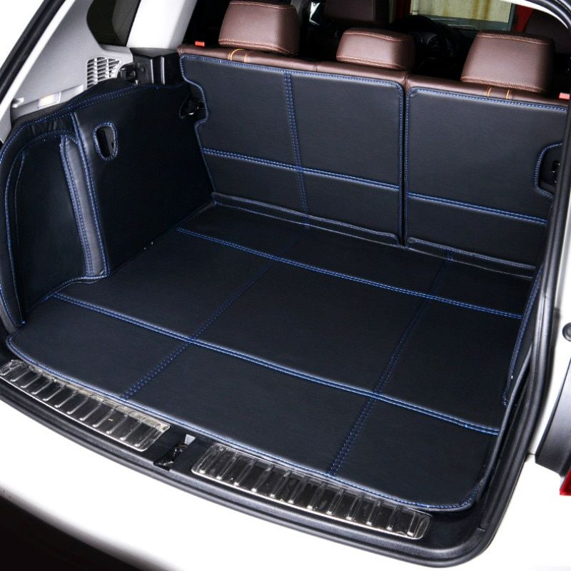 Full Covered Waterproof Boot Carpets Durable Custom Special Car Trunk Mats for Porsche Panama Macan Caynne 718 911 Cayman Boxter