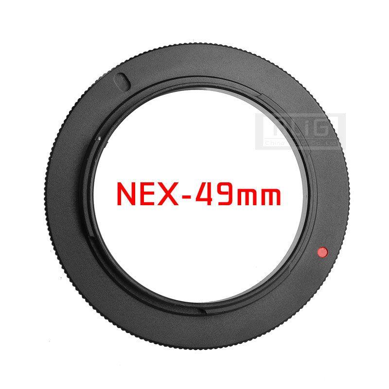 Metall 49mm 52mm 55mm 58mm 72mm 77mm Kamera Makro Objektiv Reverse Adapter für Sony e-mount A6000 A6300 A5100 A5000 A7 A7R A7RII NEX7