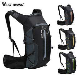 West Bersepeda Sepeda Tas Bernapas 10L Ultralight Portabel Lipat Sepeda Ransel Tahan Air Bersepeda Hiking Air Tas Ransel