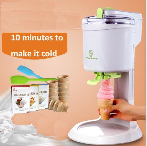 Offre Spéciale doux service machine à crème glacée crème glacée maker old fashioned ice cream maker
