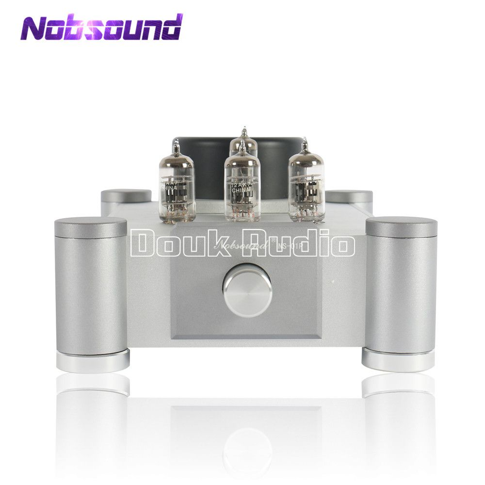 Nobsound 12AX7 (Tesla/JJECC83) ventil & Vakuum Rohr Verstärker Stereo Hallo-fi Stereo Audiophile-Grade Pre-Verstärker Ref Marantz 7