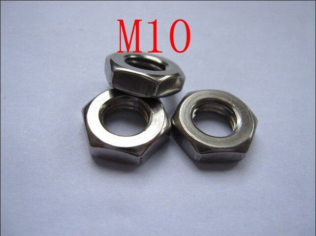 M10,304 stainless steel hex nut,hex screw,nuts and bolts,fasterners