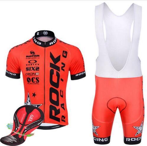 2016 ROCK RACING Cycling Jerseys kit maillot ciclismo bike clothes clothing sportwear Cortocircuitos