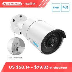 Reolink Видеонаблюдение IP камера Уличного  5MP слот для SD-карт POE H.264 аудио IP66 Видеокамера  RLC-410-5MP