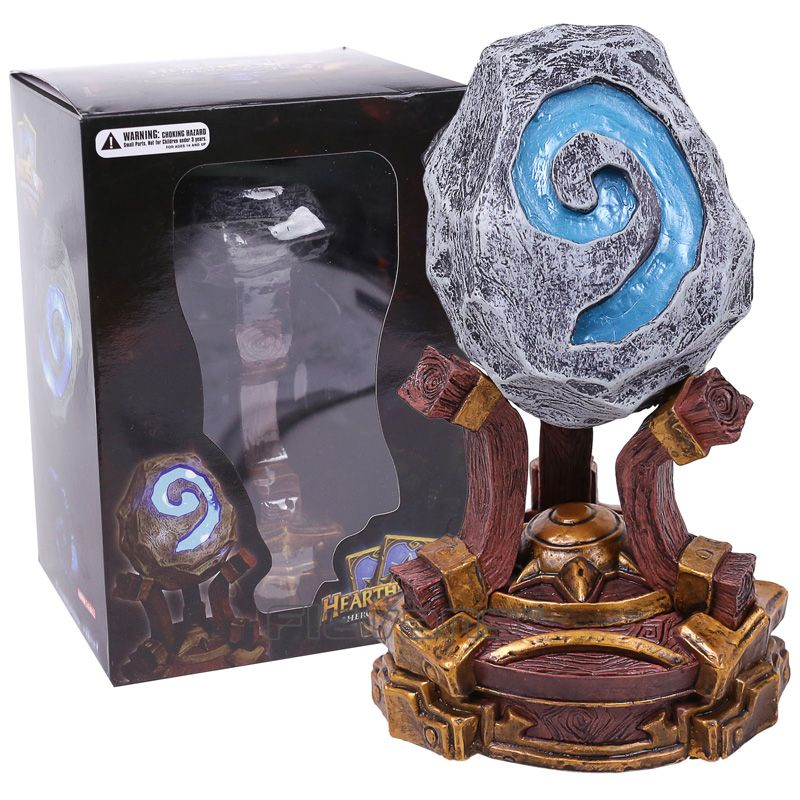 Hearthstone PVC Action Figure Collectible Model Toy with LED Light with Retail Box 18cm