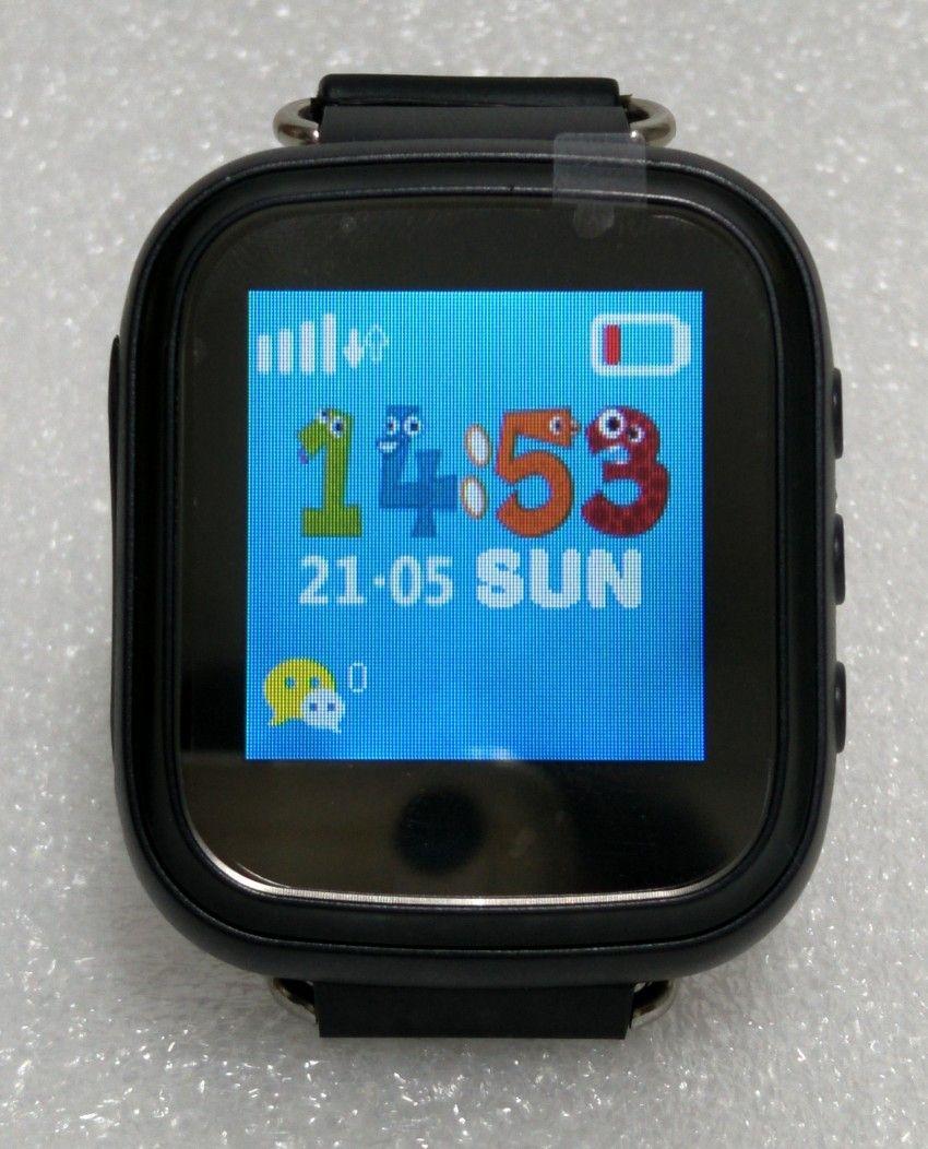Горячие GPS Tracker часы для детей безопасный GPS часы Q80 черный Смарт наручные часы sos-вызов Finder Locator Tracker удаленно Мониторы gsm