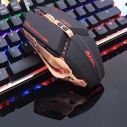 ZUOYA Professional игровая мышь 8D 3200 точек на дюйм регулируемые проволочные оптический светодиодный компьютер мыши Компьютерные USB кабель мышь для ...