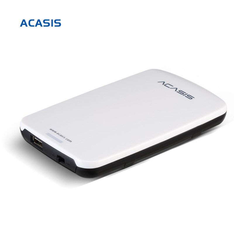 On Sale 2.5''  ACASIS Original 160GB 320GB 500GB Storage USB2.0 HDD Mobile Hard Disk External Hard Drive Have power switch