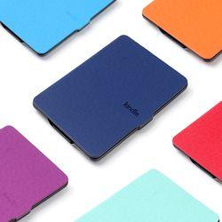 Caja de cuero para Amazon Kindle Paperwhite 1 2 3 funda para Kindle Paperwhite caso