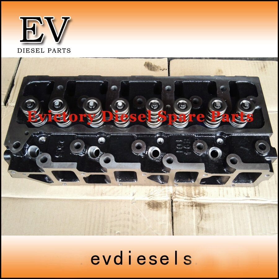 For Forklift engine Yanmar 4TNE94 4TNE98 4D98E cylinder head assy compelete new