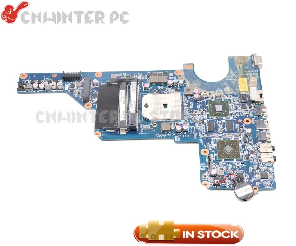 NOKOTION 649950-001 DA0R23MB6D1 For HP Pavilion G4 G6 G7 Laptop Motherboard Socket FS1 HD 6470 DDR3