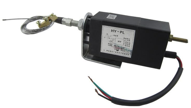 Free shipping HY-PL 24V Electric throttle controller Diesel engine electronic device control power grid electromagnetic valve