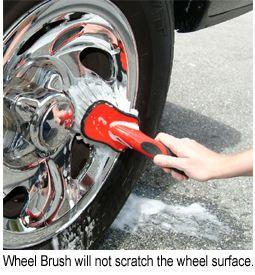 MJJC Tire, Wheel and Fender Well Brush Kit