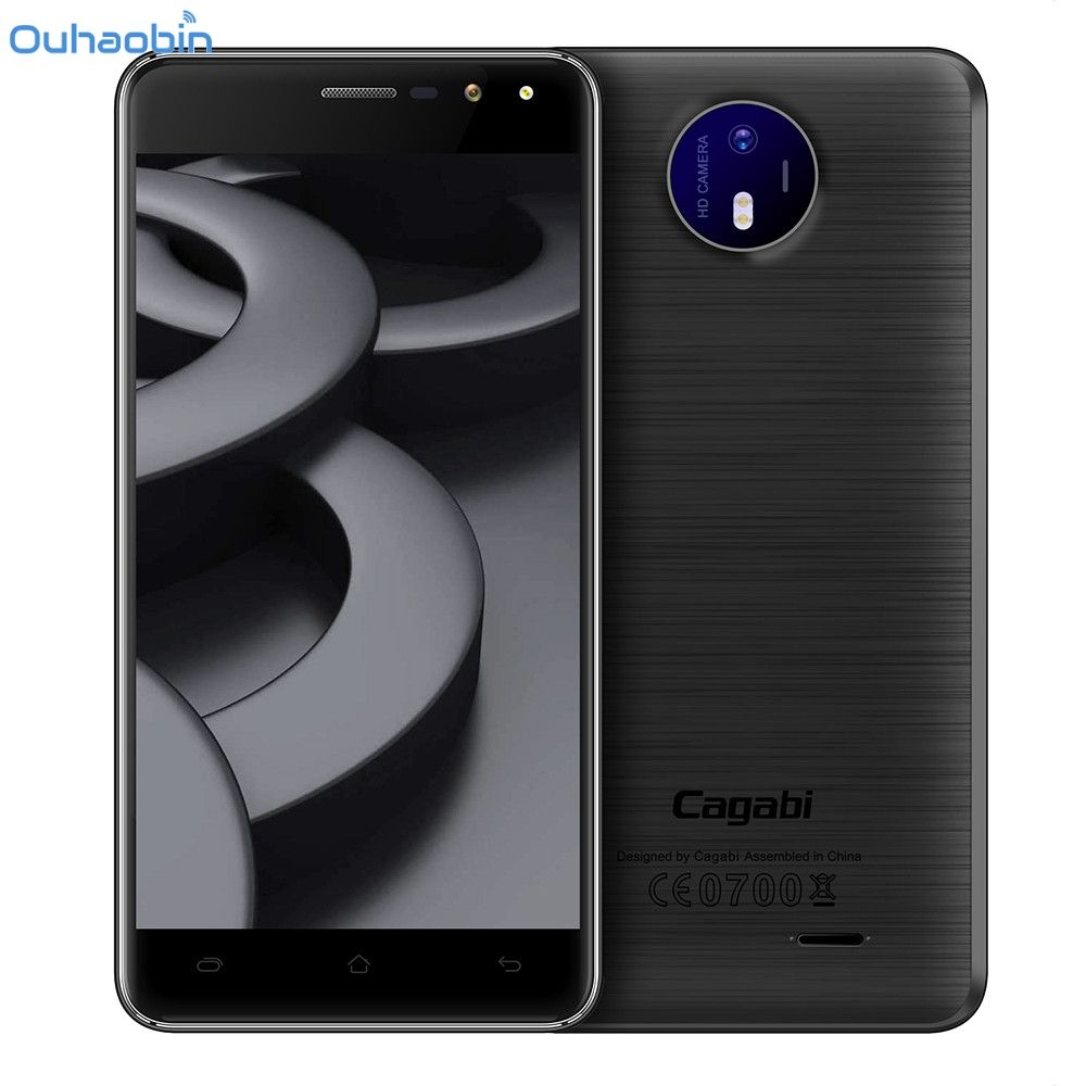 Ouhaobin 1G RAM+8G ROM Vkworld Cagabi One 5.0 inch Smartphone 3G Android 6.0 Quad Core EU Plug Apr13