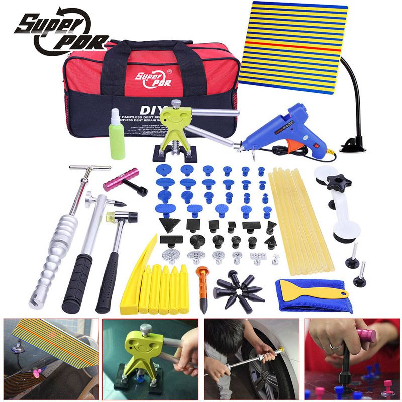PDR Tools Kit Dent Removal Paintless Dent Repair Tools Car Dent Straightening Dents Instruments hand tools