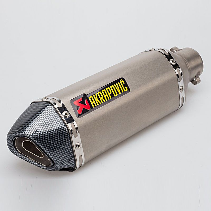 4 Color 51MM Universal Modified Escape Moto Akrapovic Exhaust Motorcycle Scooter Dirt Bike Muffler Pipe YZF600 R6 YZF1000 R1 CBR