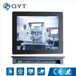 17 inch Embedded Panel PC 4GB RAM 32G SSD 2rs232/4usb/wifi Industrial Computer touch screen 1280x1024 with J1900 2.0GHz