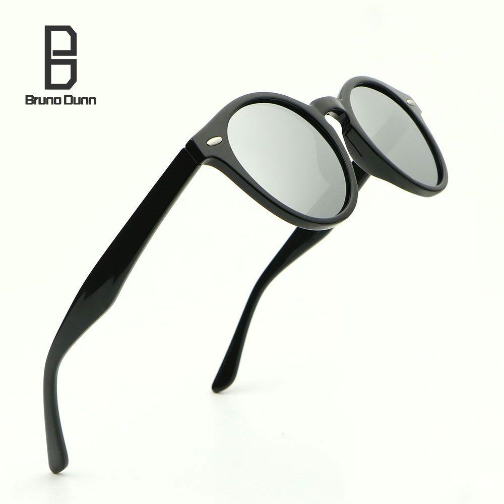 2017 gafas de Sol de Diseñador Hombres de la Marca Ronda HD Polarizado Gafas de Sol De Las Mujeres Oculos Feminino Luneta de Rayos De Sol Masculino 2180