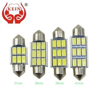 KEIN C3W C5W C10W SV8.5 Festoon LED Car CANBUS License Plate lights Reading Dome Lamp 31mm 36mm 39mm 41mm door Interior Bulb