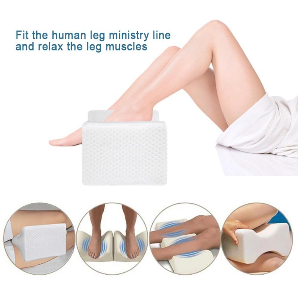 Memory Foam Knee Leg Pillow Bed Cushion Leg Pad Leg Shaping Pregnancy Body Pain Relief Sleeping Pillow For Women Sleeping