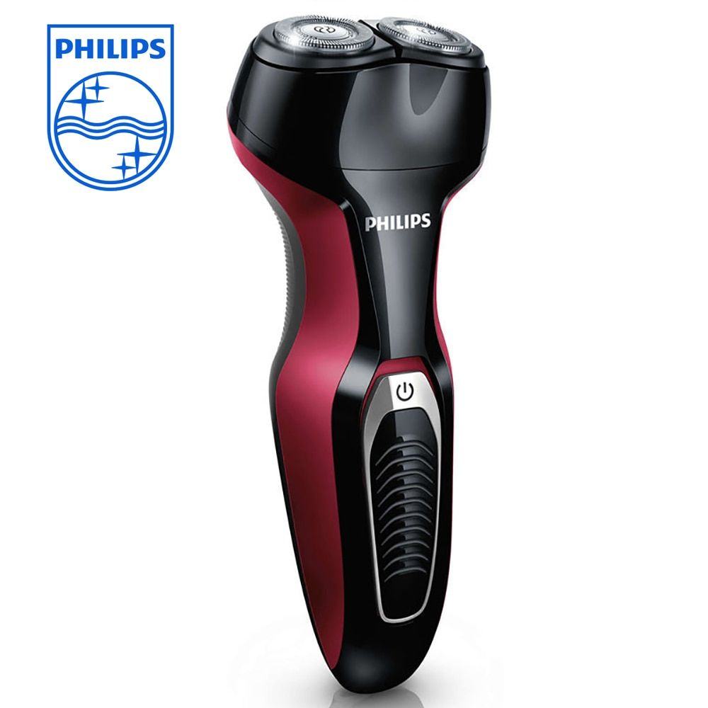 Philips Face Beard Electric Razor Professional Electric Shaver S330 Rechargeable 2 Blade Rotate Electric For Men Wet&Dry