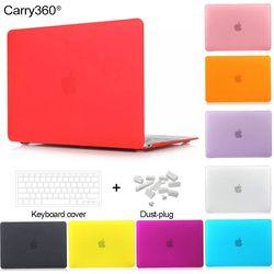 Carry360 Nouveau Cristal/Mat Manches Pour Macbook Air 13 Cas Pro 13 Pro Retina 12 13.3 15 Sac D'ordinateur Portable Pour Apple Mac book air 11 pouces