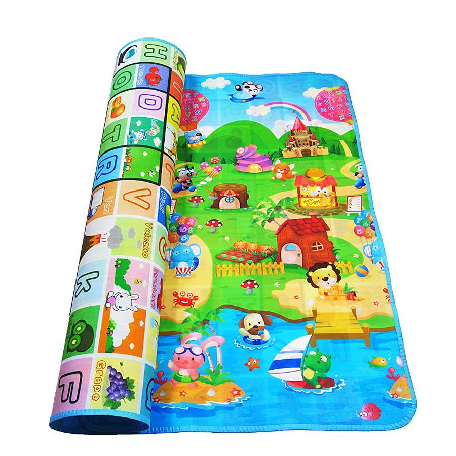 IIMIWEI Tapis Enfants Tapis Tapis de Jeu de Bébé tapis de jeu jouets pour bébés Pour Les Enfants En Développement Tapis Eva Casse-Tête En Mousse Tapis Pépinière livraison directe