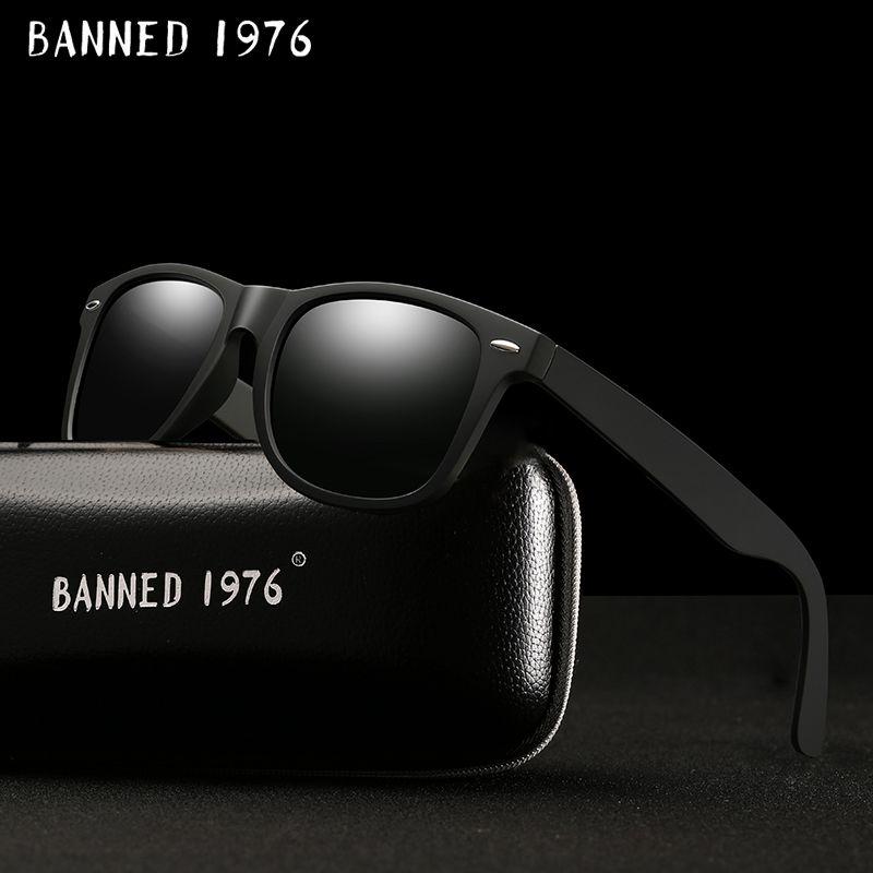 2017 mode classique HD Polarisées UV400 lunettes de Soleil hommes Cool conduite nuances de mode vintage marque femmes Lunettes de Soleil oculos de sol