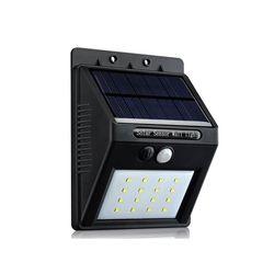 Energía Solar LED luz Solar al aire libre llevó la lámpara Solar con Sensor de movimiento PIR seguridad nocturna bombilla calle Yard camino lámpara del jardín