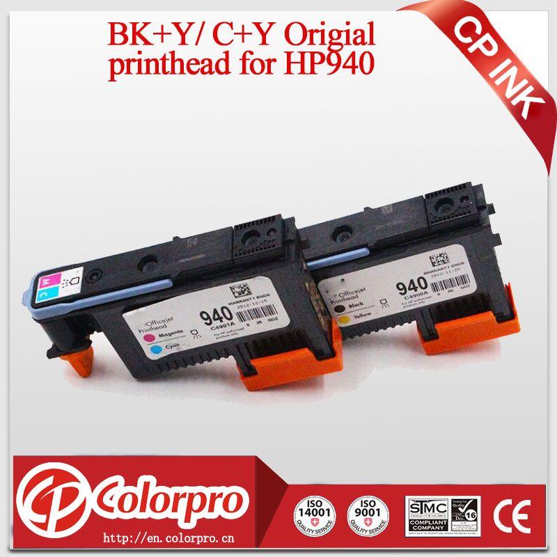 2 Pcs/ensemble Original Tête D'impression pour HP940 pour HP OfficeJet Pro 8000 8500 Imprimante pour HP 940 tête d'impression pour HP Officejet Pro 8500A