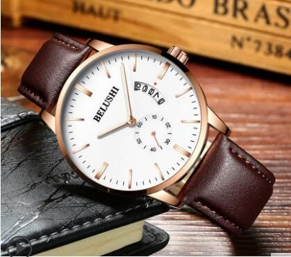 Watches Men and women couple watches a pair of Korean fashion students simple quartz watch the trend