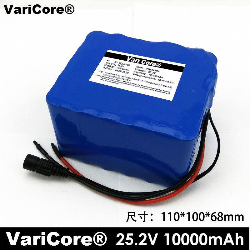 Batterie au Lithium 24 V 10AH 6S5P batterie installée batterie de véhicule électrique lumières extérieures portatives batterie médicinale