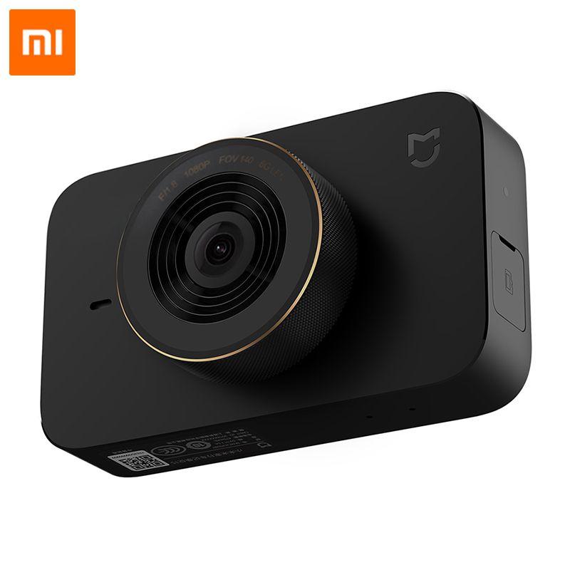 Xiaomi Mijia voiture intelligente DVR WIFI commande vocale conduite enregistreur vidéo caméra tableau de bord 1080P 140 degrés grand Angle 3 pouces écran HD