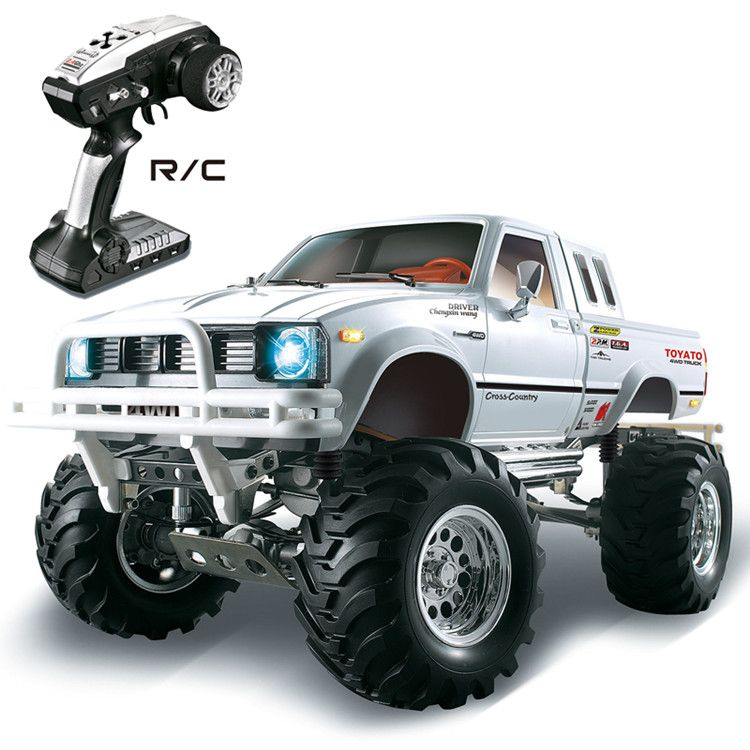 1/10 2.4G 4WD pickup truck mountain pig climbing vehicle HG-P407