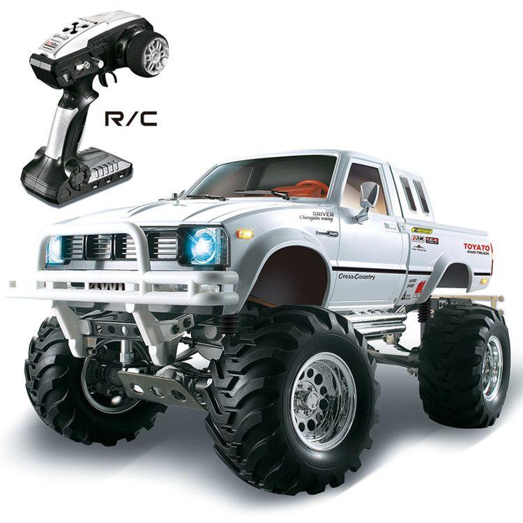 1/10 2.4G 4WD pickup truck mountain pig climbing vehicle HG-P407