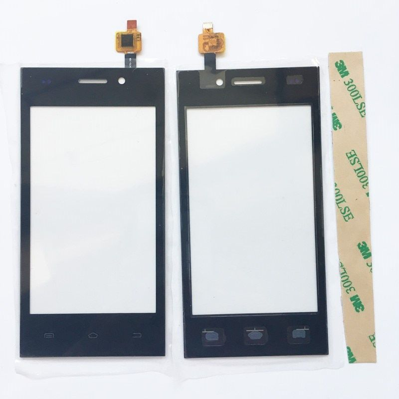 Touch Screen + Tape Digitizer For Highscreen Zera F 4.0'' Touch Screen Glass Panel Assembly Replacement