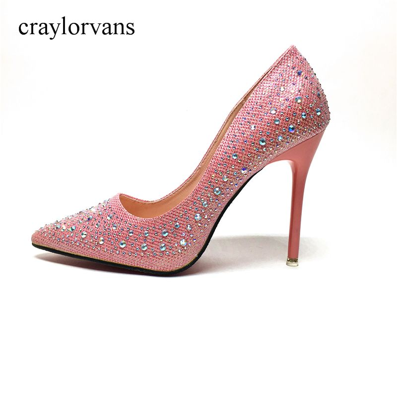 Brand Shoes Woman High Heels Pumps Red High Heels Sexy Women Shoes High Heels Wedding Shoes Pumps Pink Shoes Heels New Arrive