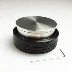 Kopi Tamper 58 Mm 57.5 Mm Baru Stainless Steel Adjustable Tamper Kualitas Tinggi Espresso Smart Tamper Barista DIY Alat Kopi