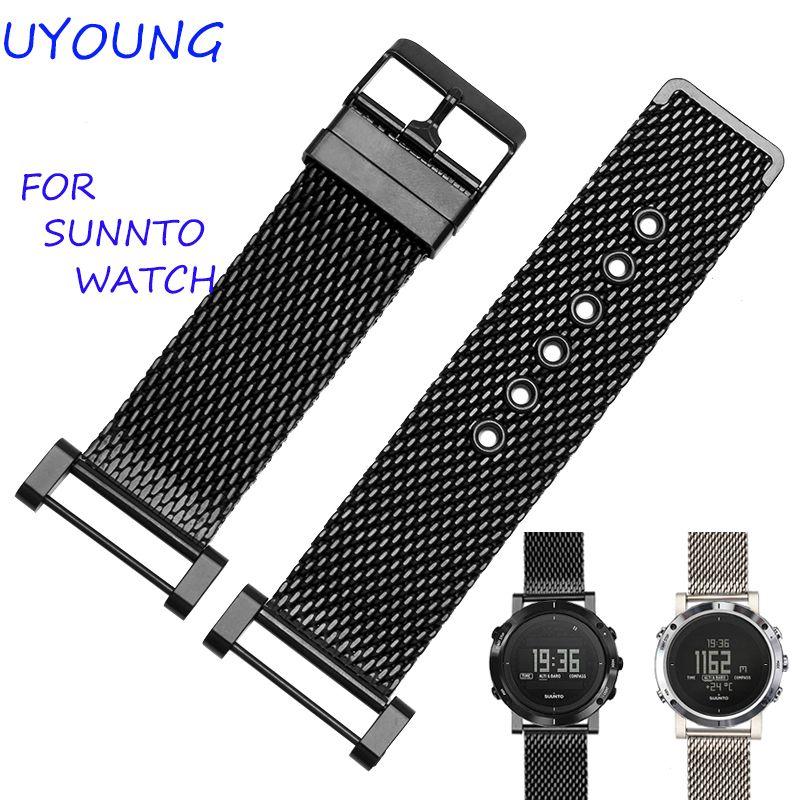Bracelet de montre de haute qualité en acier inoxydable MiLan 24mm pour Bracelet de montre de haute qualité