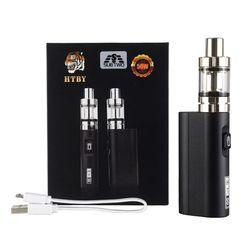 HT 50 caja Mod cigarrillo electrónico vaporizador 2200 mAh nueva 50 W kit Vape pen 2 ml tanque atomizador e cigarrillo electrónico Vapor vaporizador
