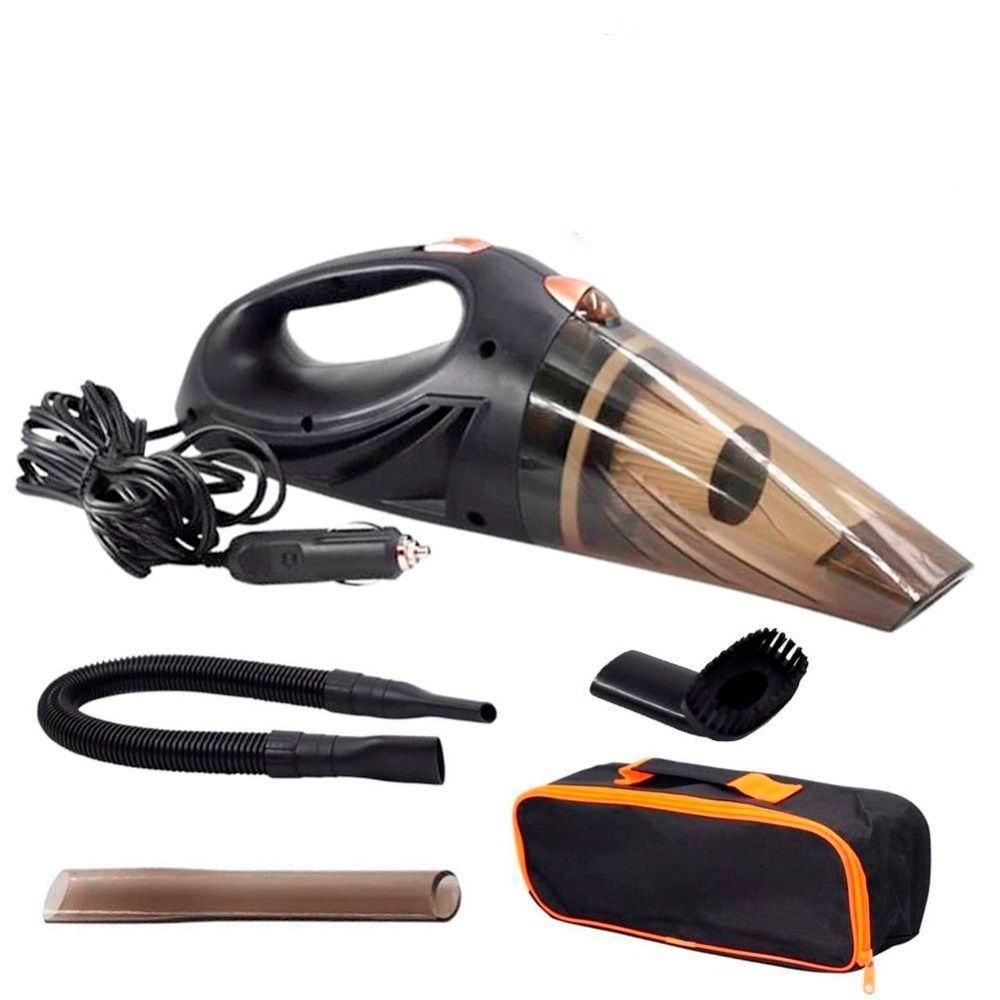 Strong Power Car Vacuum Cleaner DC 12 Volt 120W with Handbag 4.8 KPA Cyclonic Wet / Dry Auto Portable Vacuums Cleaner Dust