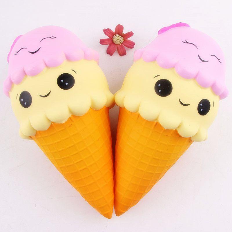 Cute Anti-stress Squishy Toys Slow Rising Koala Ice cream Cake Phone Strap Kawaii Squeeze Jumbo Squishi Squishes Kids Toys