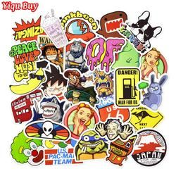 50-100 PCS Cartoon Style Stickers for Car Motorcycle Bicycle Laptop Phone Skateboard Anime Suitcase Decals Waterproof Stickers