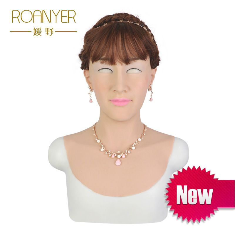 Roanyer Tia realistic sexy realistic silicone for crossdress cosplay shemale masquerade drag queen transgender transexual