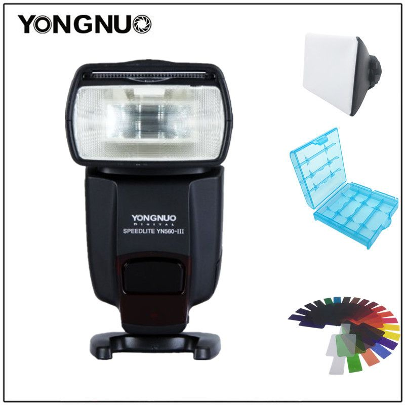 Yongnuo YN560III YN-560 III Professional Flash Speedlight Flashlight Yongnuo for Canon Nikon Pentax Olympus Camera D60 D610 D500