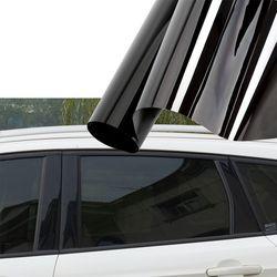 Pare-Soleil De voiture Solaire Protection Fenêtre De La Voiture Film Pour Auto Côté Fenêtre Voiture De Teinture 0.5*3 m Extérieur Accessoires Car Styling