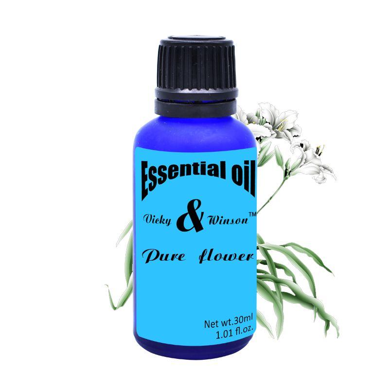 Vicky & winson Pure fleur aromathérapie huiles essentielles soluble dans l'eau arôme four arôme humidificateur huile essentielle 30 ML VWXX16