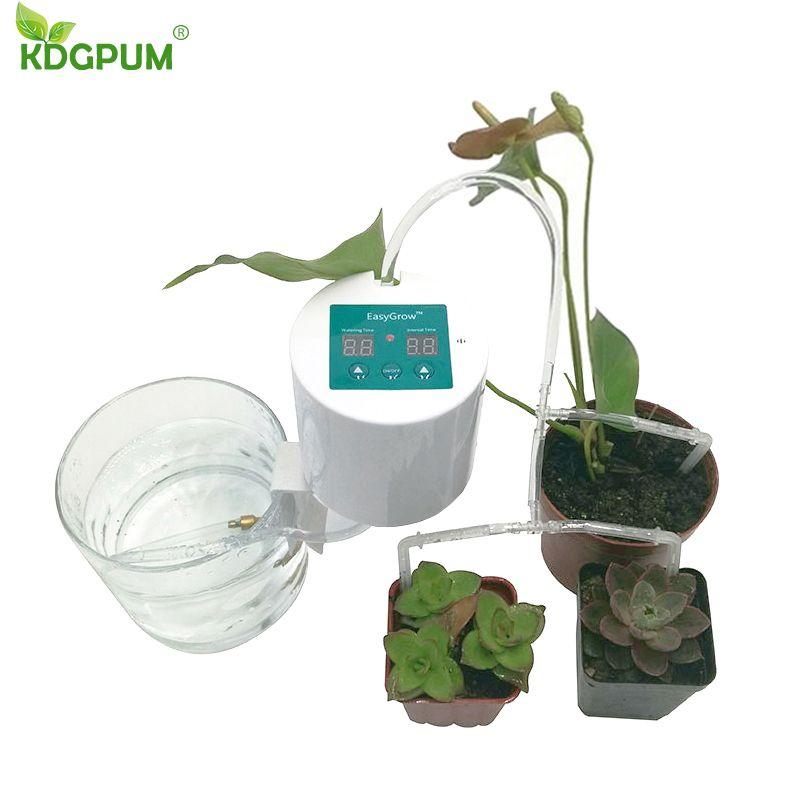 Intelligent Garden Automatic Watering Device Succulents Plant Drip Irrigation Tool Water Pump Timer System Arrosage Automatique