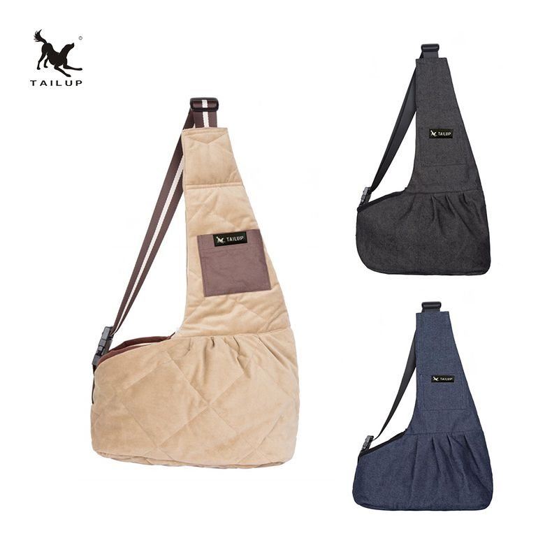TAILUP Pet chien sacs à bandoulière en plein air coupe-vent transporteurs pour petits chats et chiots